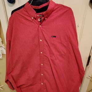 Chaps Red long sleeve